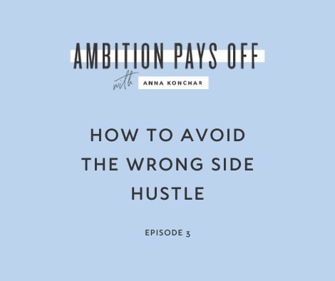 How to Avoid the Wrong Side Hustle