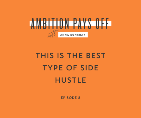 8. This is the best type of side hustle