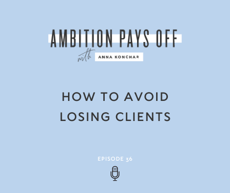 How to Avoid Losing Clients